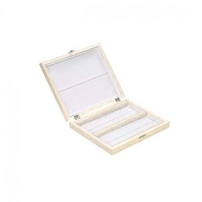 Деревянный ящик для хранения гистологических на 100 срезов-образцов KD-09